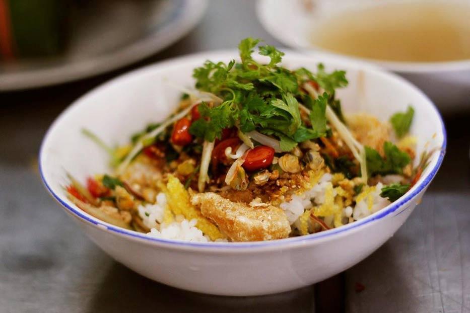 cơm hến ngon xứ Huế