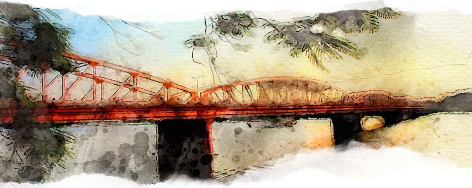 tranh sông Hương Huế